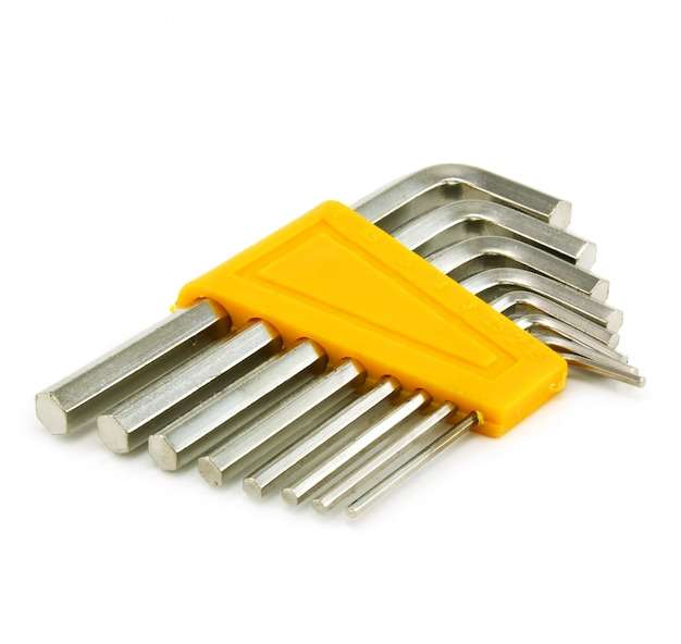 Set of hexagon spanners