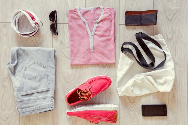 Set of men's clothes