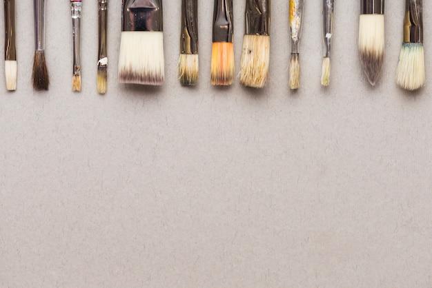 Set of nice paintbrushes