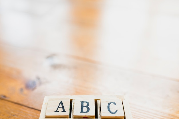학교와 학습을위한 알파벳 문자 세트