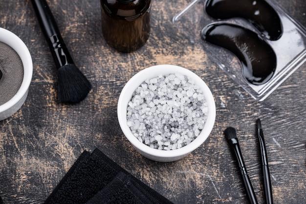 黒炭デトックス化粧品のセット