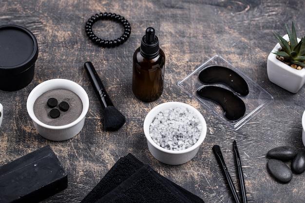 검은 숯 디톡스 화장품 세트
