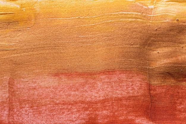 Набор косметических образцов мазков, брозе, металлической фоновой текстуры