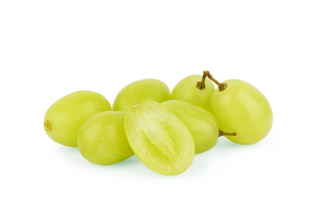 흰색 바탕에 포도 열매 세트