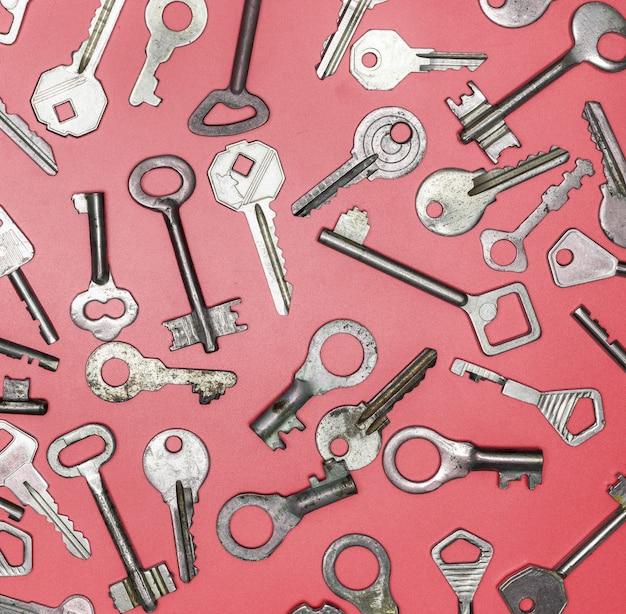 古いキーのセット