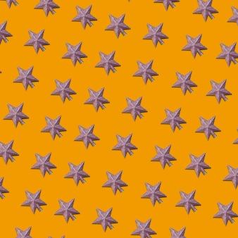 Набор орнаментов серых звезд