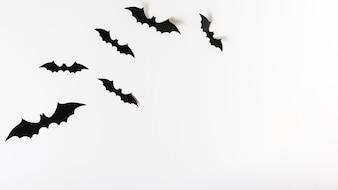 Set of paper bats