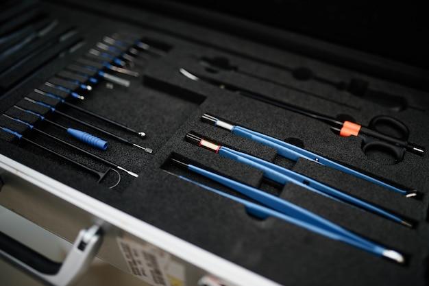 전문 의료 현대 수술 도구 세트