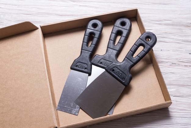 Набор шпатель в картонной коробке
