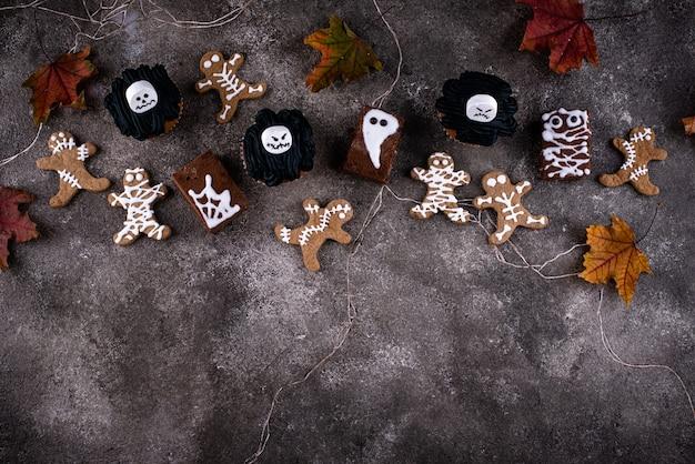 Набор страшных десертов на хэллоуин