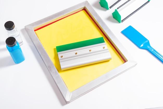スクリーン印刷ツール、キットのセット