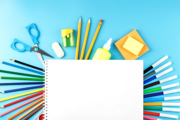Набор канцелярских товаров для рисования и творчества