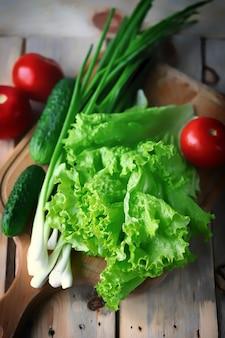 夏野菜と夏野菜のセット