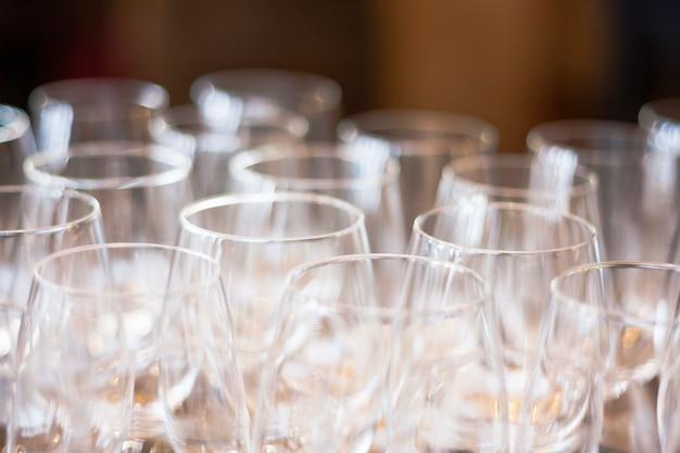 ワイングラスのセット