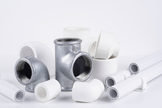 Set of sanitary fittings