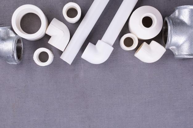 Set of sanitary fittings