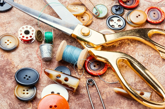 Set of sewing accessories
