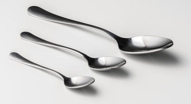 Set of silver cutlery