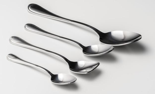 Set of silver cutleryb