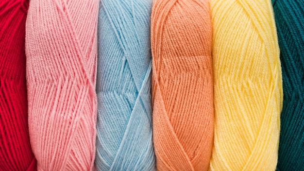 Set of soft yarn