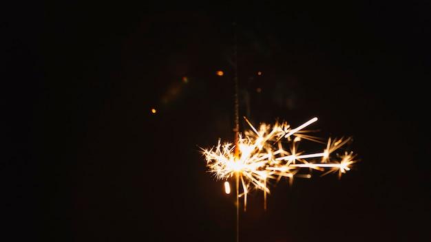 Set of sparklers