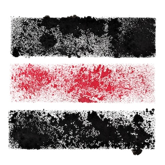Set of stenciled stripes -  abstract background for your own text - raster illustration