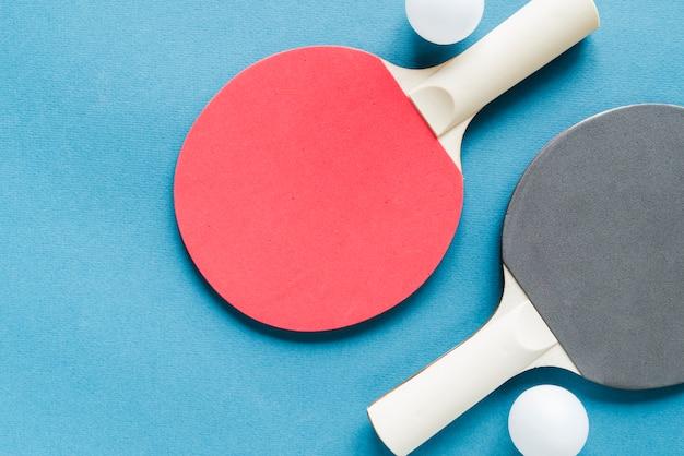 Set of table tennis equipment