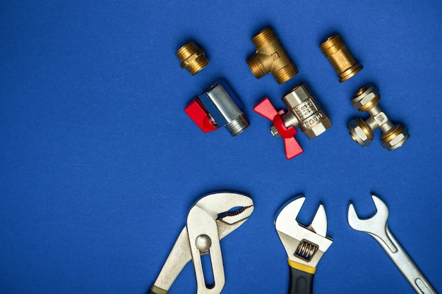 A set of tools for plumbing