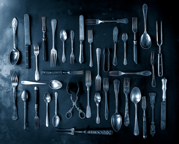 Set of vintage cutlery