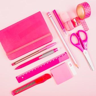 Set of women office supplies