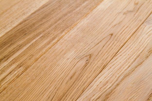 背景として木の質感を持つ美しいラミネートまたは寄木細工の床のいくつかの板