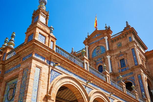 Sevilla plaza espana andalusia spain