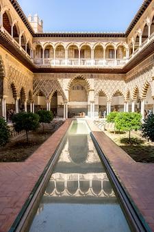 Seville alcazar spain
