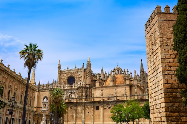 Seville cathedral and archivo indias sevilla
