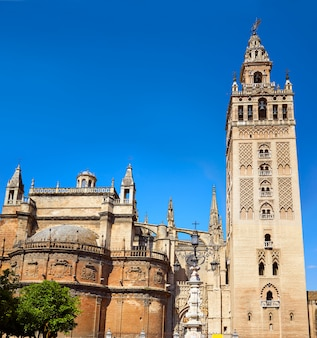 Seville cathedral giralda tower sevilla spain