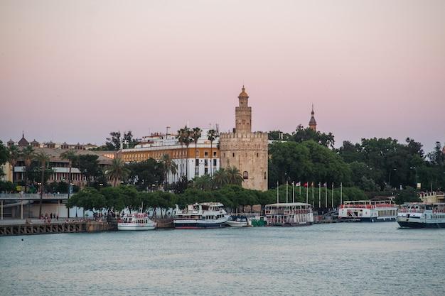Seville, the guadalquivir river