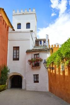 Seville juderia barrioアンダルシアsevillaスペイン