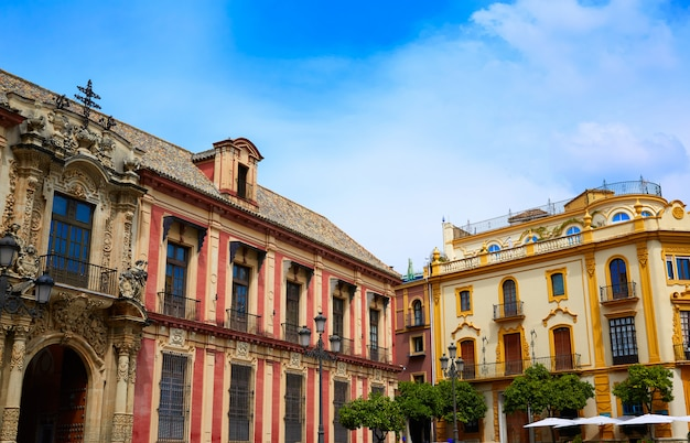 Seville palacio arzobispal of sevilla andalusia