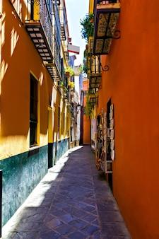 Старый еврейский квартал севильи, испания