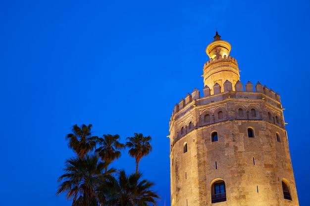 Seville torre del oro sunset sevilla andalusia