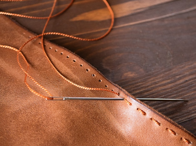 Пошив кошелька, кошелька, сумки, рюкзака. инструмент для работы с натуральной кожей.