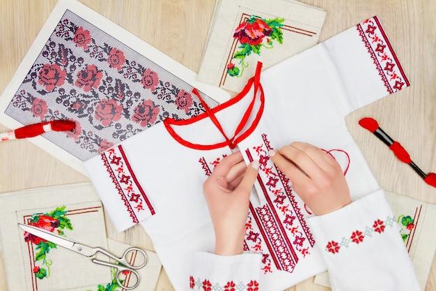 Швейно-вышивальная мастерская или рабочее место
