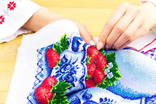 Sewing and embroidery workshop