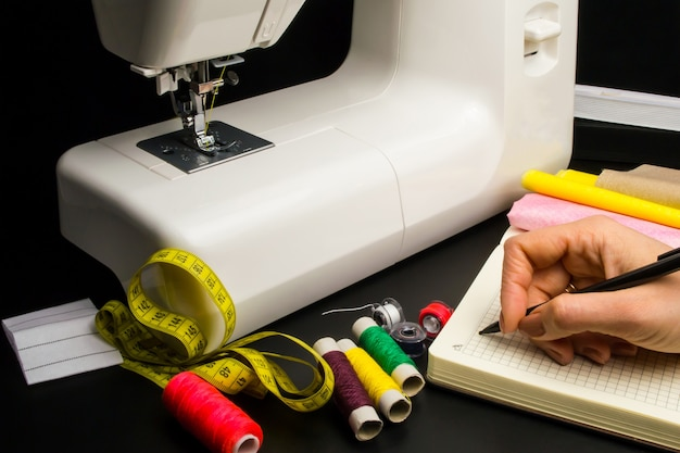 Sewing machine, sewing supplies