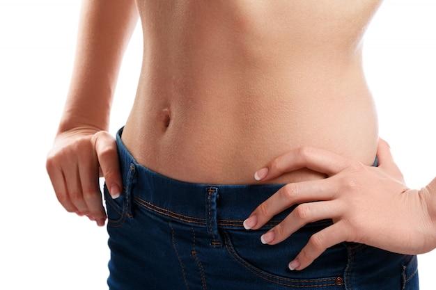 Sexy women belly