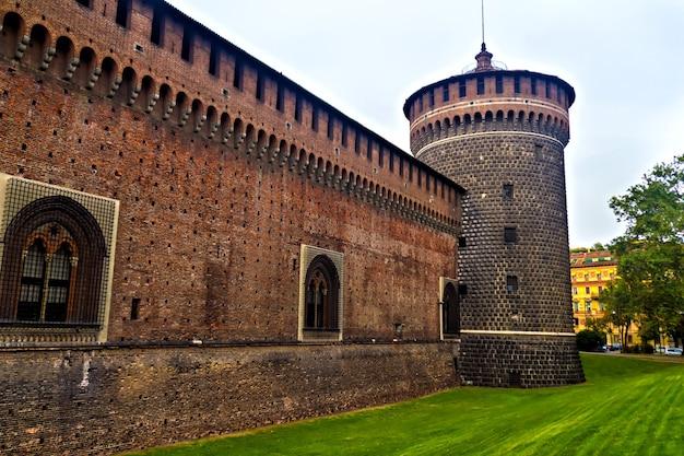 スフォルツェスコ城、ミラノイタリア