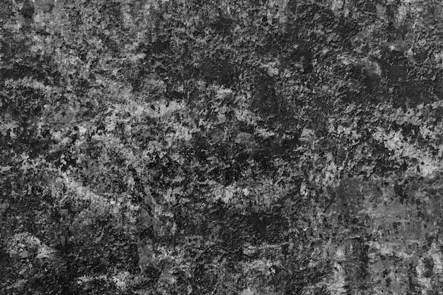 초라한 거친 석고 벽