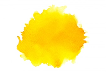 Shades yellow watercolor.image
