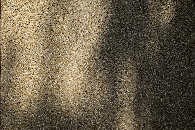 Shadow on polished concrete surface