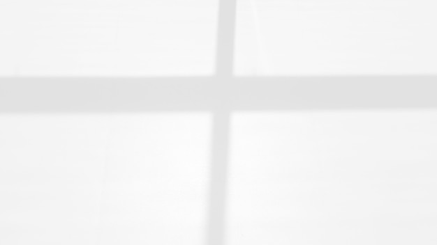 Shadow of a window on a white wall overlay effect for photo mock up product wall art design presentation